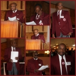 19th Episcopal District: Chapter Presidents with the Conference 1 : Bloemfontein; Bro Mokodutlo, Betlehem; Bro Mofokeng,