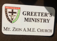 Greeter Badge